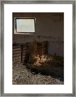 Softly The Sun Framed Print by Odd Jeppesen