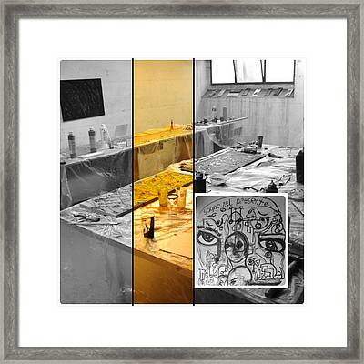 Framed Print featuring the photograph Sogno Nel Presente Part One by Sir Josef - Social Critic - ART