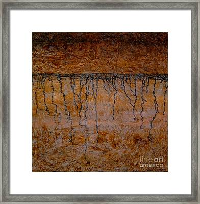 Soil Not Dirt Framed Print