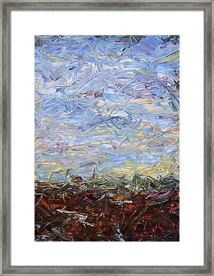 Soil Tumoil 2 Framed Print