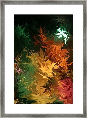 Framed Print featuring the digital art Soild Water 1 by Joel Loftus