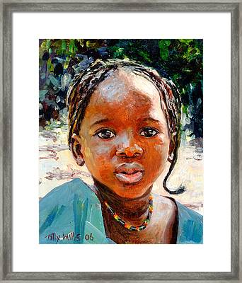 Sokoro Framed Print by Tilly Willis