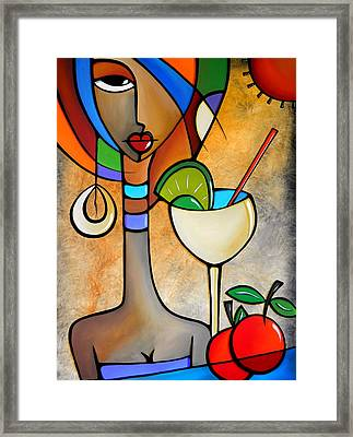 Solace By Fidostudio Framed Print