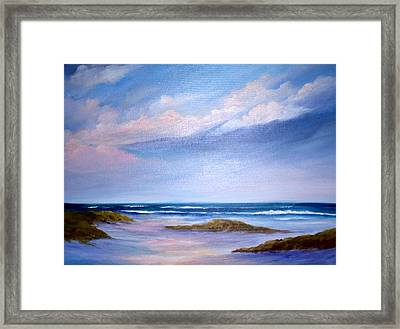 Solace Framed Print by Rosie Brown