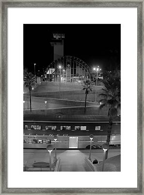 Solana Beach Train Station Framed Print