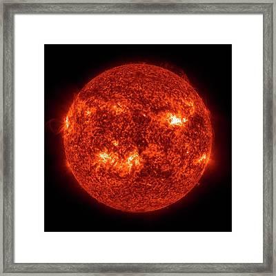 Solar Activity Framed Print by Nasa/gsfc-svs/sdo Science Team/virtual Solar Observatory
