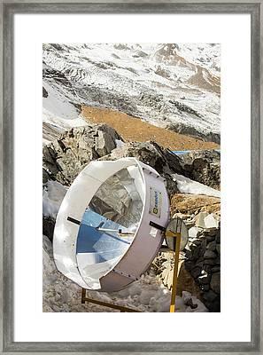 Solar Cooker For Baking Bread Framed Print by Ashley Cooper
