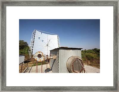 Solar Crematorium Framed Print by Ashley Cooper