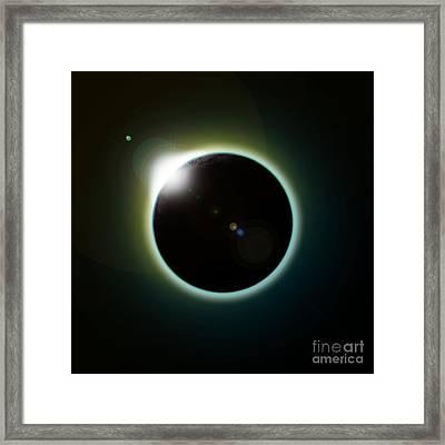 Solar Eclipse Framed Print by Antony McAulay
