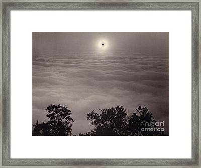 Solar Eclipse, January 1, 1889 Framed Print by Getty Research Institute