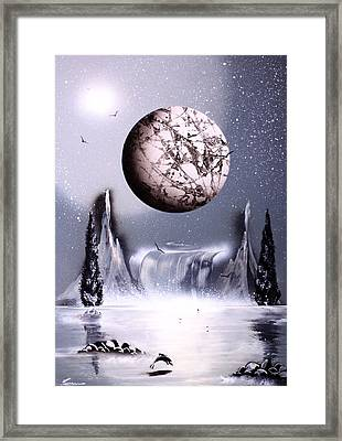 Solar Eclipse Framed Print by Ronny Or Haklay