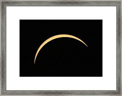 Solar Eclipse Framed Print by Babak Tafreshi