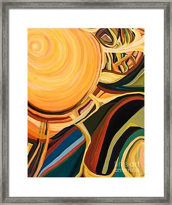Solar Energy Framed Print