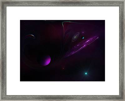 Solar Energy Framed Print by Ricky Haug