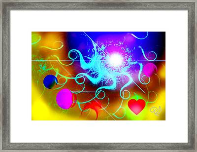Solar Event Framed Print