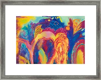 Solar Flares Framed Print