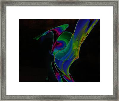 Framed Print featuring the digital art Solar Jedi by Chris Thomas