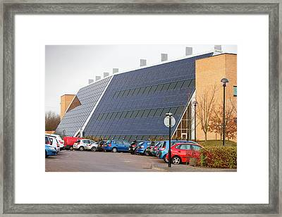 Solar Office Framed Print by Ashley Cooper
