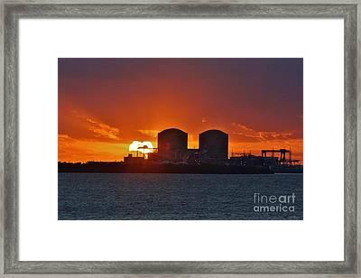 Solar Power Reduction Framed Print