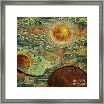 Solar Symphony Framed Print