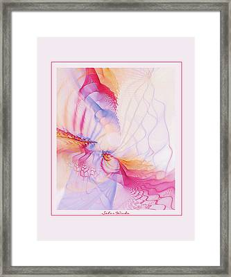 Solar Winds Framed Print by Gayle Odsather