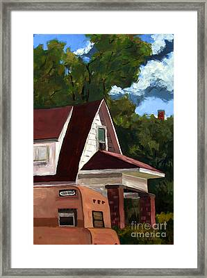 Sold E.hopper's Camper Framed Print by Charlie Spear