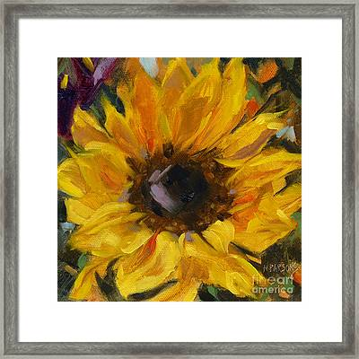 Sold Flower Power Framed Print