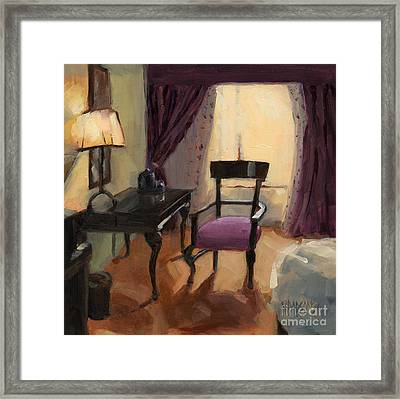 Sold - Room Service  Framed Print