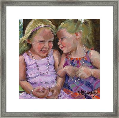 Sold Silly Sister Secrets Framed Print