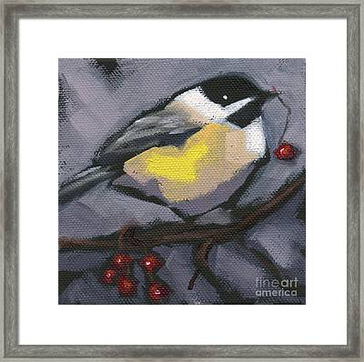 Sold Thanks-giving Bird Framed Print