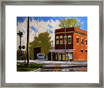 Sold Where The Soldiers Come From Framed Print