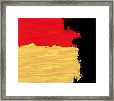 Soldier Framed Print by Condor