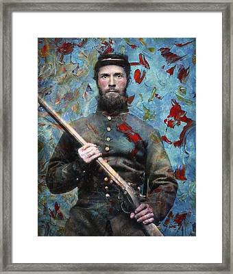 Soldier Fellow 2 Framed Print by James W Johnson