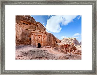 Soldiers Tomb Framed Print by Alexey Stiop