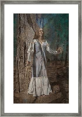 Solfeggio Framed Print by Kimberly Webber
