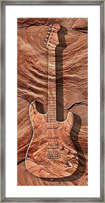 Solid As A Rock Panoramic Framed Print