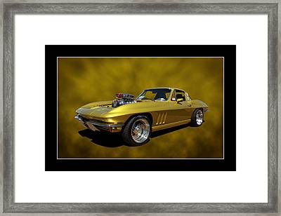 Framed Print featuring the photograph Solid Gold by Keith Hawley