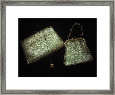 Solid Gold Framed Print by Robert Cunningham