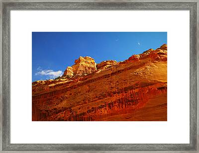 Solid Stone Framed Print by Jeff Swan