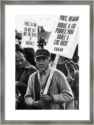Solidarity Day, 1981 Framed Print
