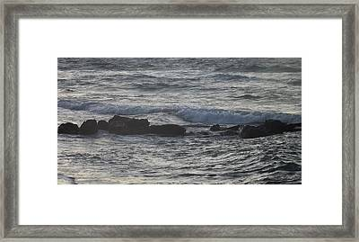 Framed Print featuring the photograph Solids And Liquid by Diane Miller