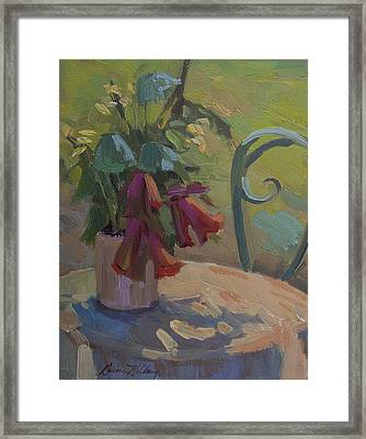 Soliel Provence Framed Print by Diane McClary