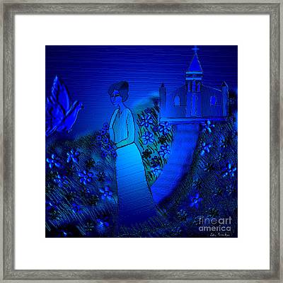 Soliloquy Framed Print by Latha Gokuldas Panicker