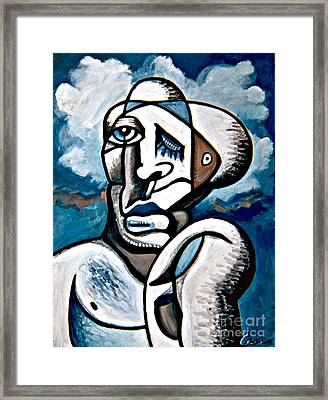 Solitary Brother Framed Print by Feile Case