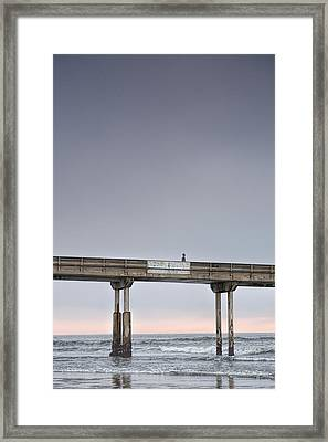 Solitary Framed Print by Peter Tellone
