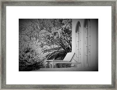 Framed Print featuring the photograph Solitude #2 by George Mount