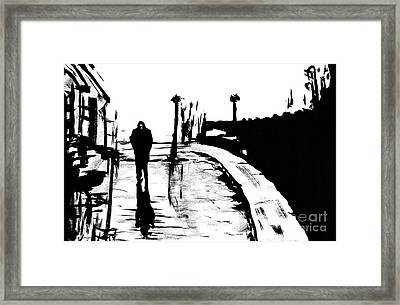 Solitude Framed Print by Alys Caviness-Gober