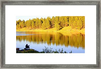 Framed Print featuring the photograph Solitude by Antonia Citrino