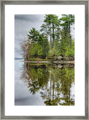 Solitude At Pinheys Point Ontario Framed Print by Rob Huntley