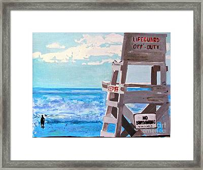 Solitude Framed Print by Beth Saffer